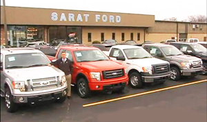 sarat ford trucks agawam mass